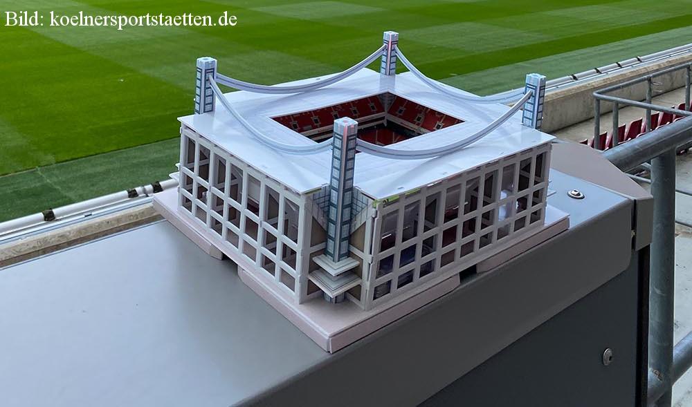 Das 3D Puzzel vom Müngersdorfer Stadion